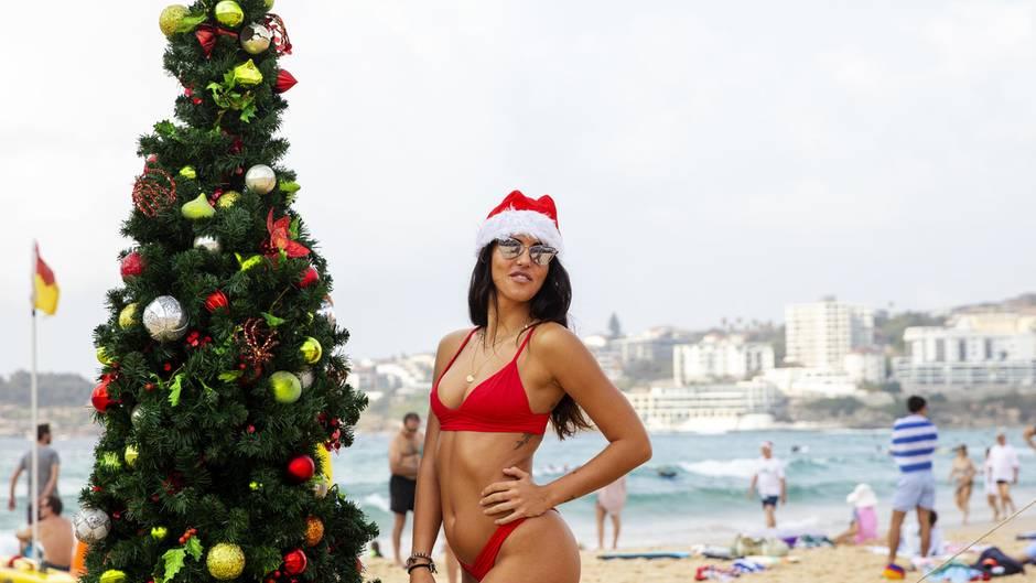 Hitze und Buschfeuer: Weihnachten bei 40 Grad im Schatten: So erleben die Australier die Festtage