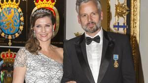 Norwegens Prinzessin Märtha Louise und Ari Behn besuchten 2016 gemeinsam die Geburtstagsfeier von König Harald. Im gleichen Jahr gab das Paar seine Trennung bekannt.
