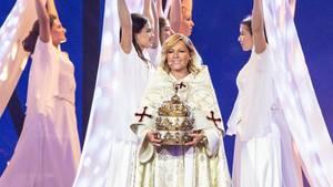 Helene Fischer als Päpstin