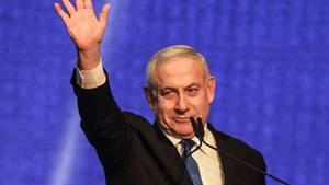 Netanjahu musste während einer Wahlkampfveranstaltung in einen Bunker gebracht werden