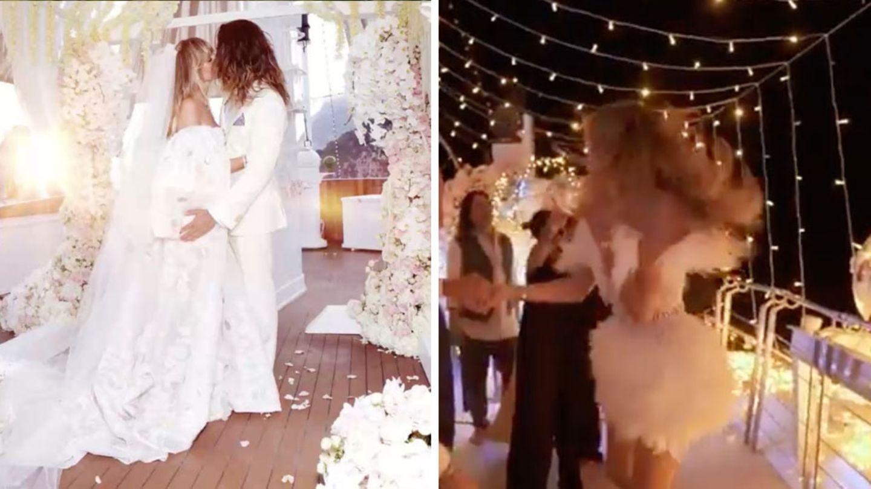VIP im Video: Heidi Klum präsentiert ihr zweites Brautkleid