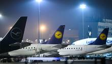Passagiermaschinen der Fluggesellschaft Lufthansa:Die Kabinengewerkschaft Ufo bereitet Streiks in den nächsten Tagen vor