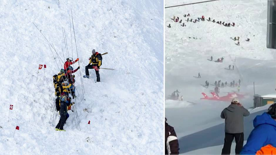 Schweiz – Skifahrer nach Lawinenabgang in Andermatt gerettet