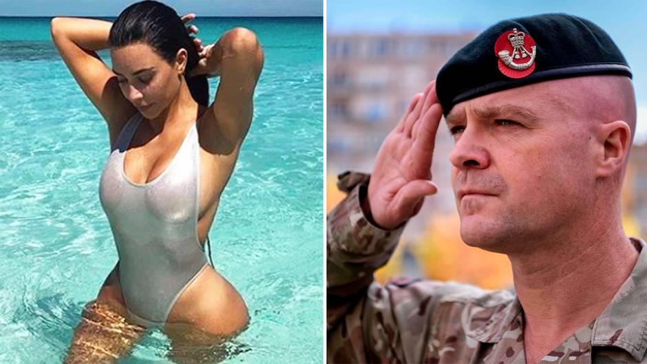Kim Kardashians Po soll britische Rekruten anlocken