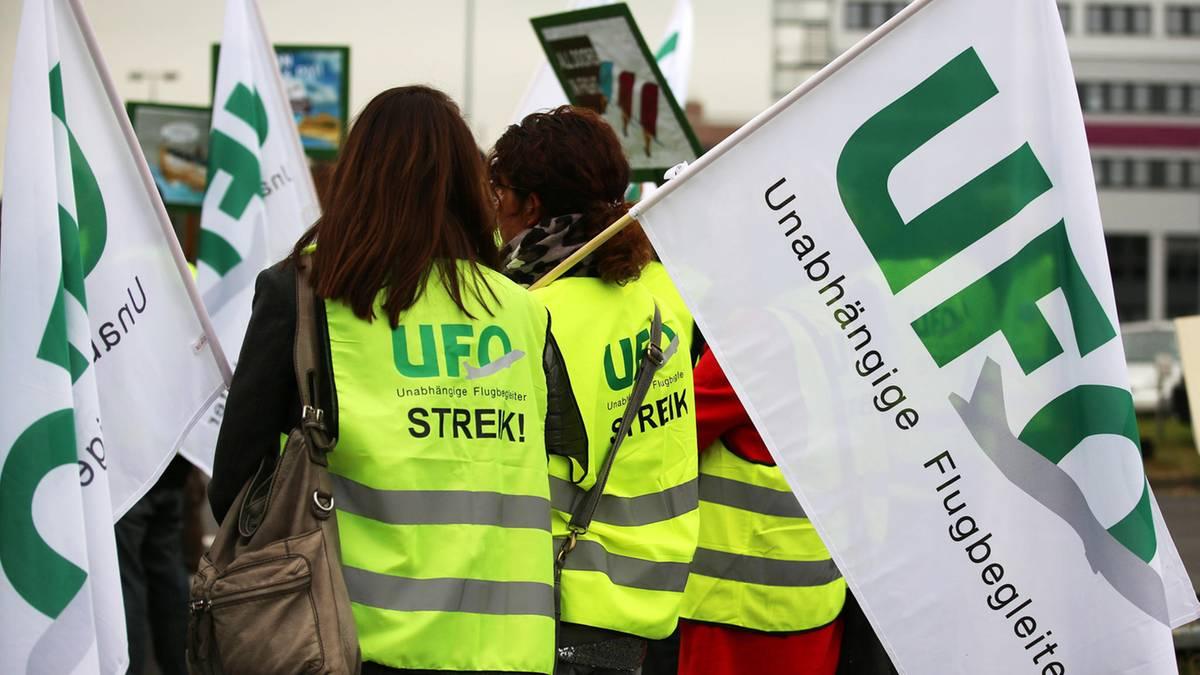 Ufo streik lufthansa 2020