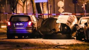 Stuttgart: Polizei erschießt flüchtigen Autofahrer nach Unfall