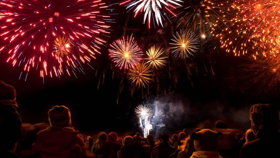 Silvester 2019 Wetter: Ein Feuerwerk