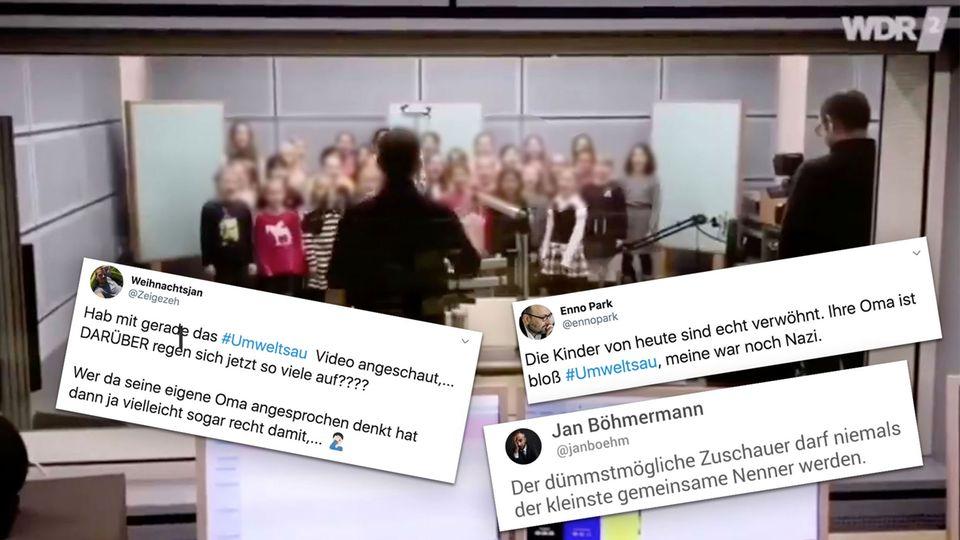 #Umweltsau: WDR-Kinderlied polarisiert im Netz – viele übersehen das Wichtigste