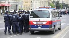 Polizeieinsatz in österreich