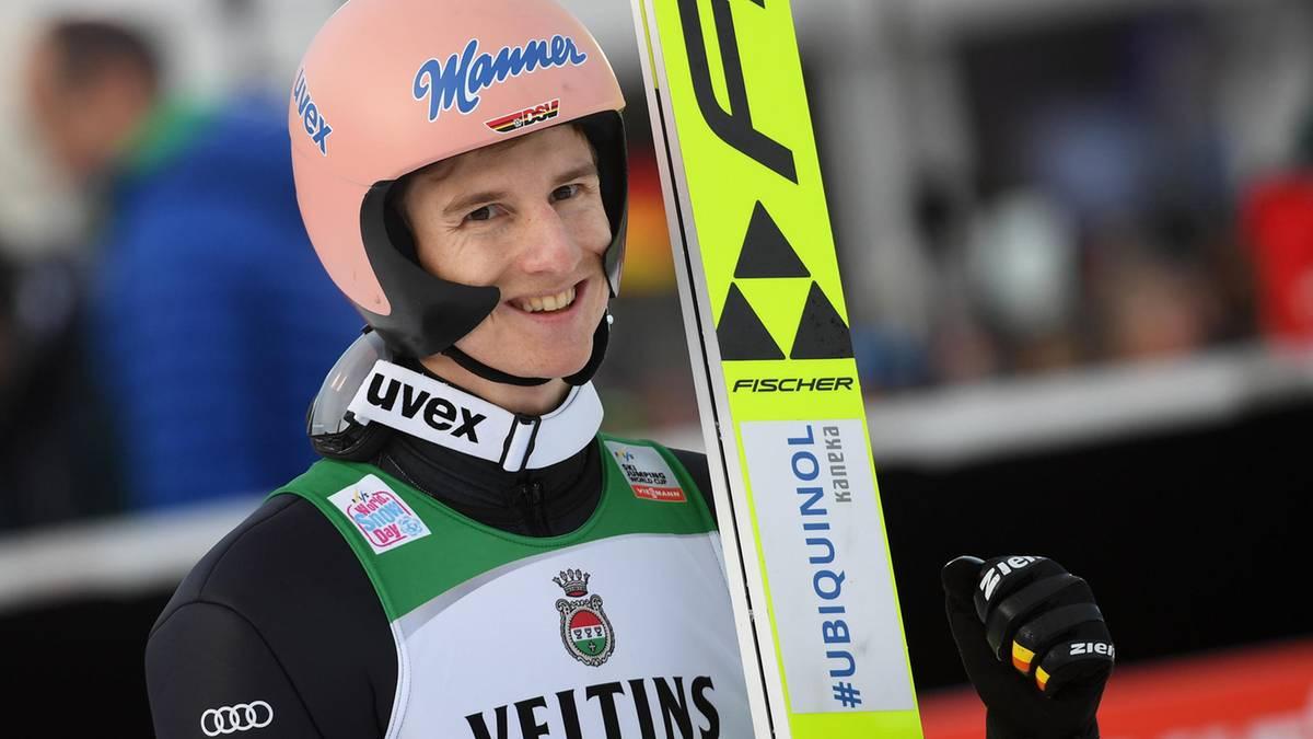 Sport kompakt: Skispringer Geiger gewinnt Quali in Garmisch
