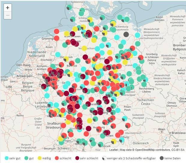 Luftqualität in Deutschland