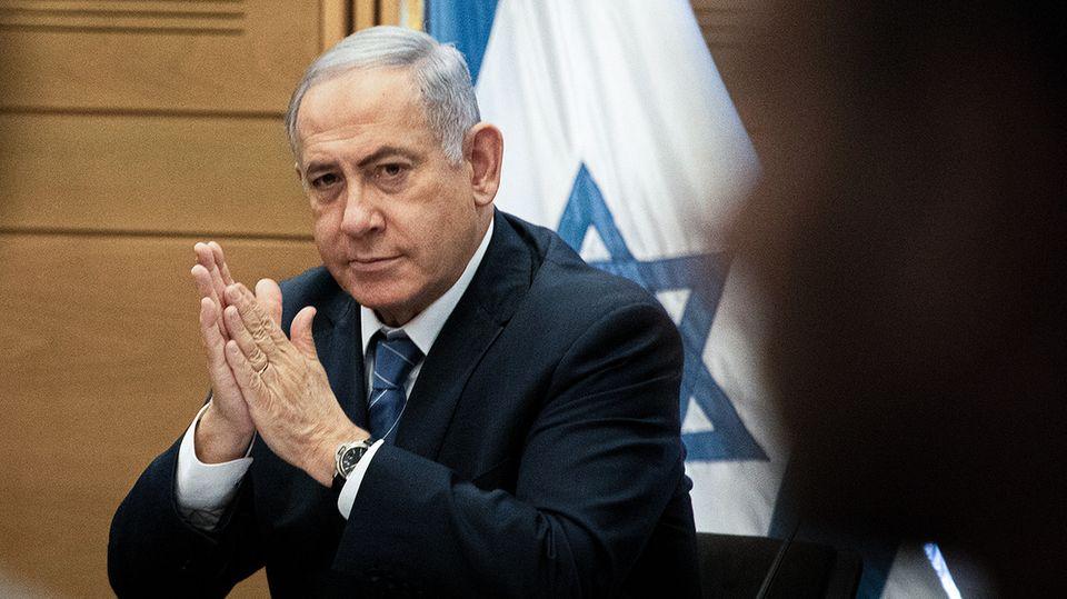 Benjamin Netanjahu, Premierminister von Israel,will beim Parlament Immunität beantragen
