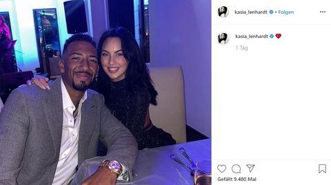Jerome Boateng und Kasia Lenhardt sind ein Paar