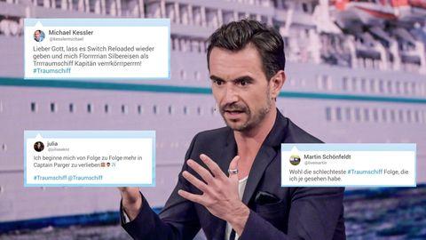 """Die Twitter-User diskutieren über die zweite Folge """"Traumschiff"""""""