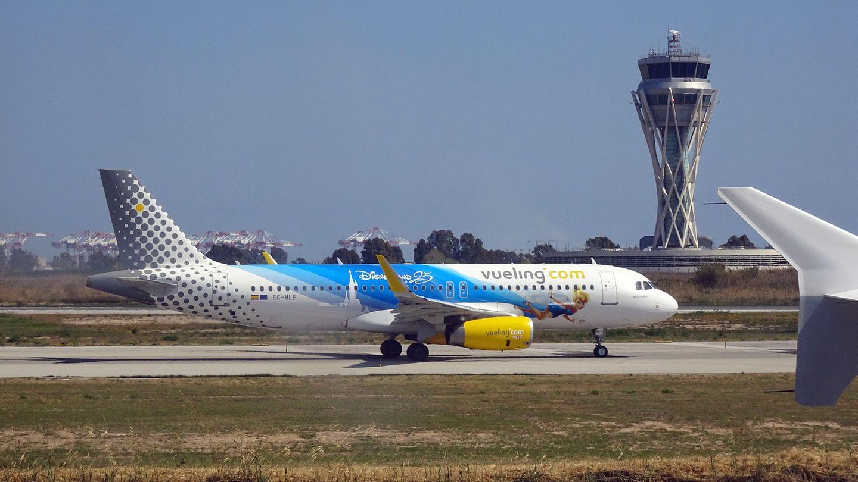 Airbus A320 vor dem Start
