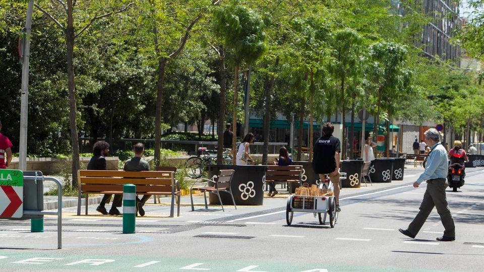 Superilla in Barcelona