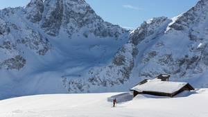St. Moritz in der Schweiz