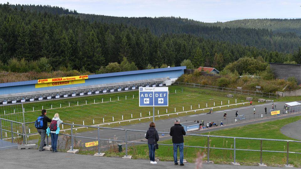 Oberhofer Biathlon-Arena