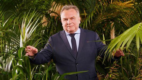 Günther Krause im Dschungelcamp