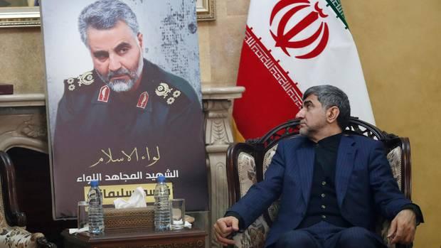Iran Botschafter Bild Soleimani