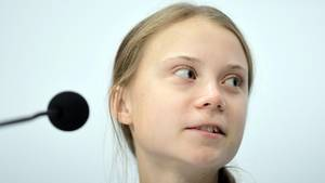 Die 17-jährige Klimaaktivistin Greta Thunberg