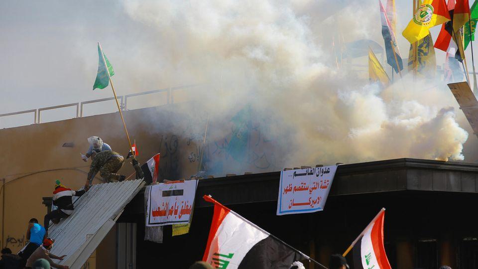Luftangriffe im Iran
