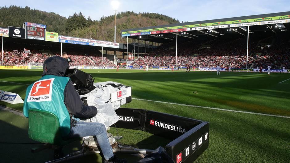 Kameramann bei der Bundesliga