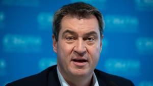 Markus Söder, CSU-Vorsitzender undMinisterpräsident von Bayern
