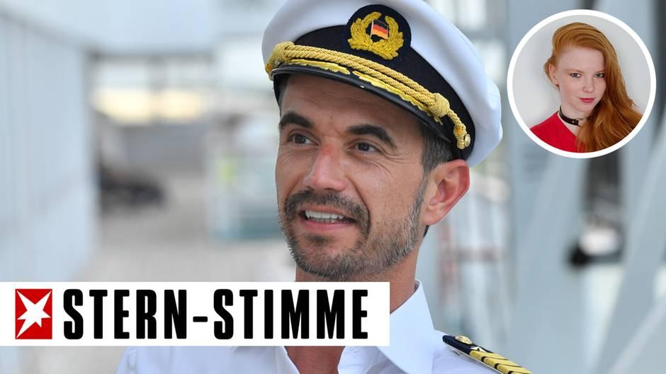 Florian Silbereisen in seiner Rolle als Traumschiff-Kapitän Max Parger