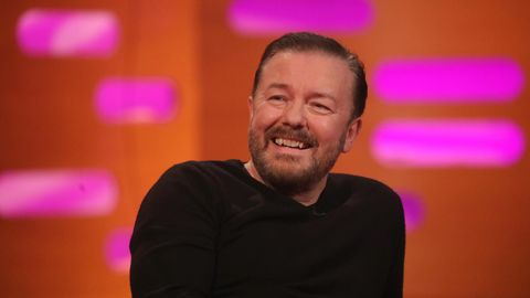 Comedian Ricky Gervais