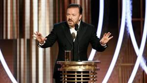 Ricky Gervais bei den Golden Globes