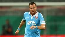 Kevin Großkreutz im Trikot des KFC Uerdingen. Nebenbei arbeit er noch als Co-Trainer beim Bezirksligisten Türksport Dortmund