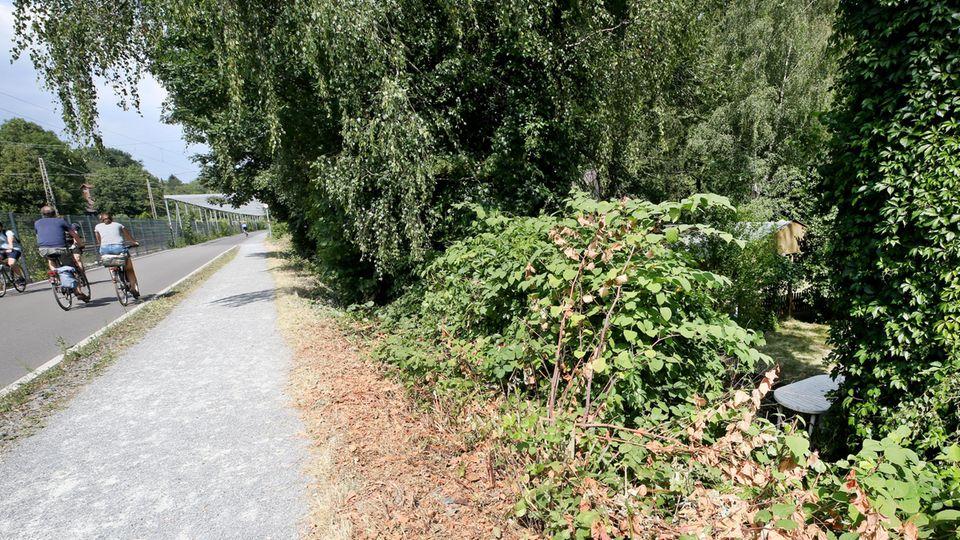 Tatort der Vergewaltigung in Mülheim