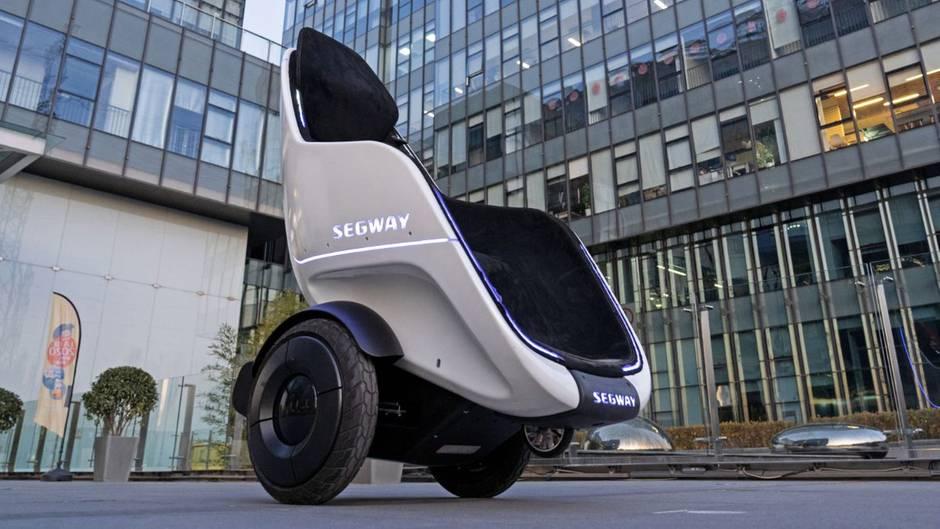 Der S-Pod ermöglicht Mobilität im Sitzen bei geringer Grundfläche.