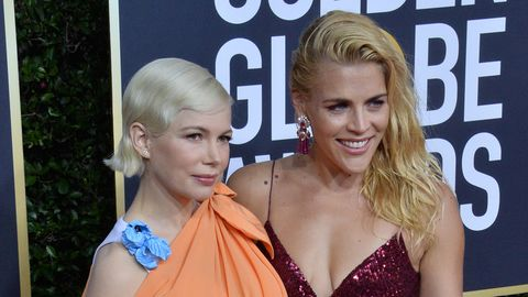 Michelle Williams, Busy Philipps Golden Globes