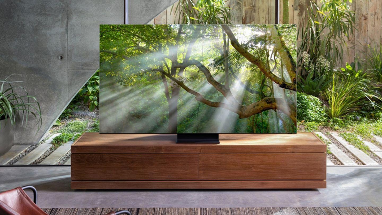 Fast nur Bildschirm: Mit einem beinahe rahmenlosen Fernseher will Samsung in diesem Jahr die Kunden begeistern.