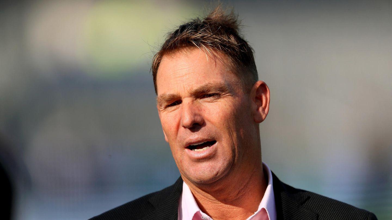Der ehemalige Cricket-Profi Shane Warne