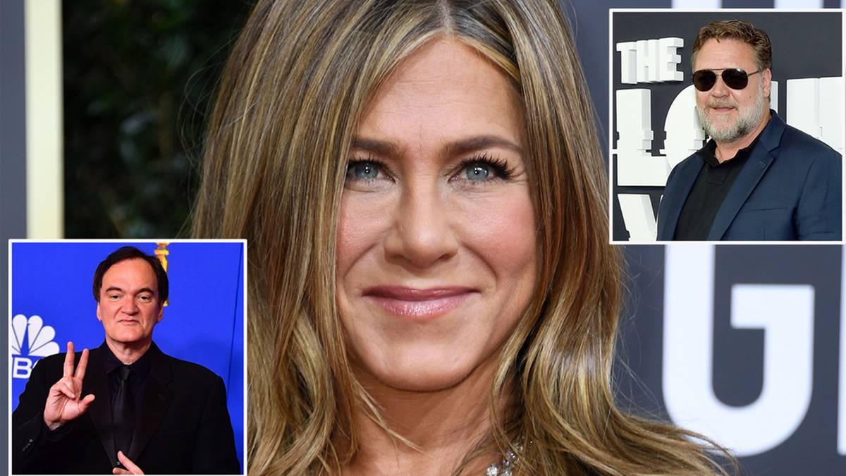 Golden Globes: Tarantino räumt ab – Jennifer Aniston verliest eindringliche Nachricht von Russel Crowe