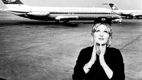 Vesna Vulovic wurde zur nationalen Berühmtheit, aber die Gesellschaft ließ sie nie wieder beruflich fliegen.