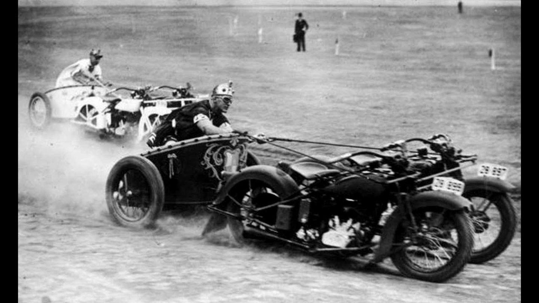 Diese australischen Polizisten lieferten sich 1936 ein erbittertes Rennen.