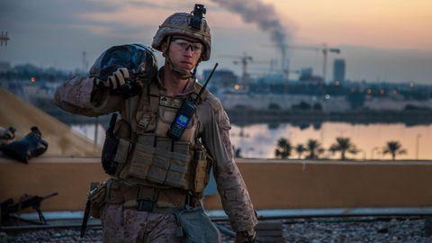 Ein US-Soldat im Irak:Die US-Armee bereitet nach eigenen Angaben einen möglichen Abzug ihrer Soldaten aus dem Land vor