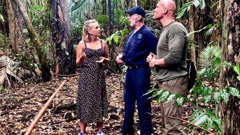 Dschungelcamp: Evelyn Burdecki, Dr. Bob und Thorsten Legat