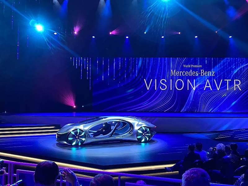 Mercedes Vision AVTR auf der CES 2020