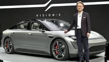 Sony präsentiert E-Auto.