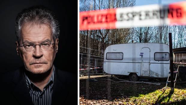 Rainer Rettinger vom Deutschen Kinderverein; Tatort in Lügde