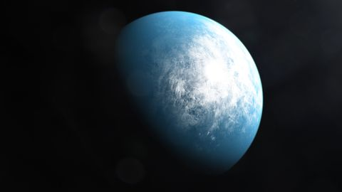 So könnte der lebensfreundliche, erdgroße Exoplanet TOI-700 d aussehen