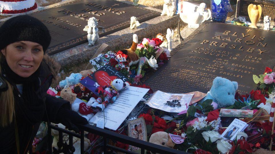 Grab von Elvis auf Graceland