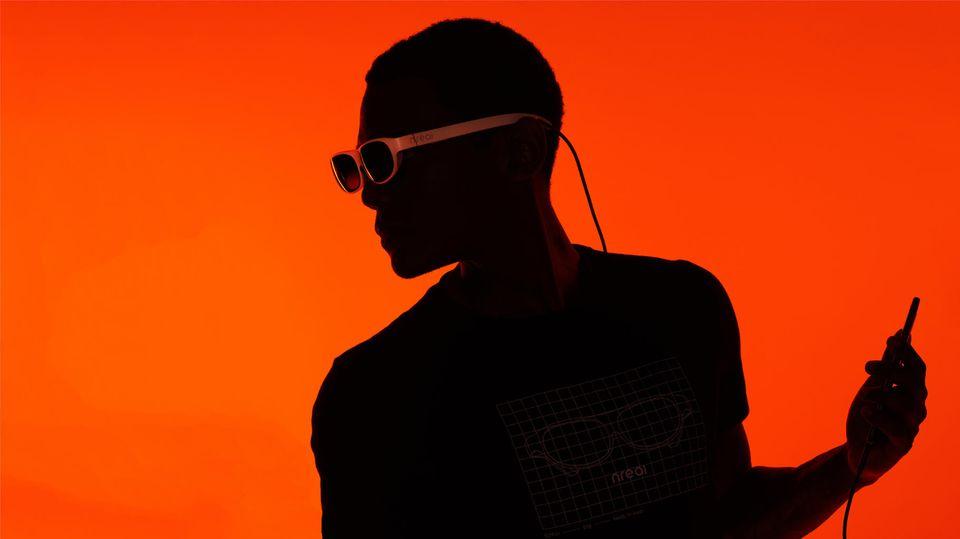 Die smarte Brille von Nreal wurde gerade auf der CES vorgestellt