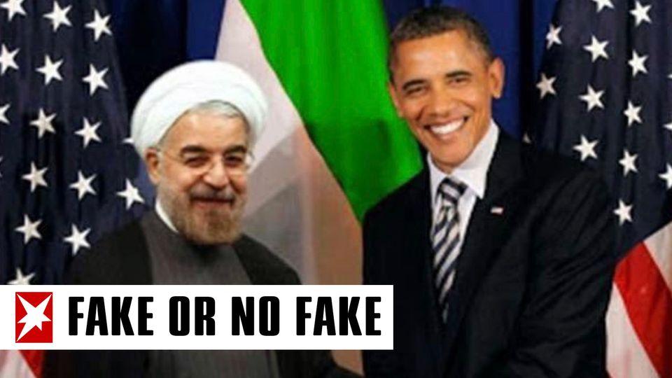 Hassan Rouhani und Barack Obama