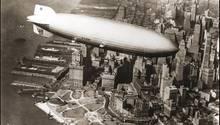 LZ127 Graf Zeppelin in New-York